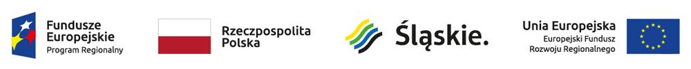 Logo Fundusze Europejskie, RP, Województwo Śląskie, Unia Europejska